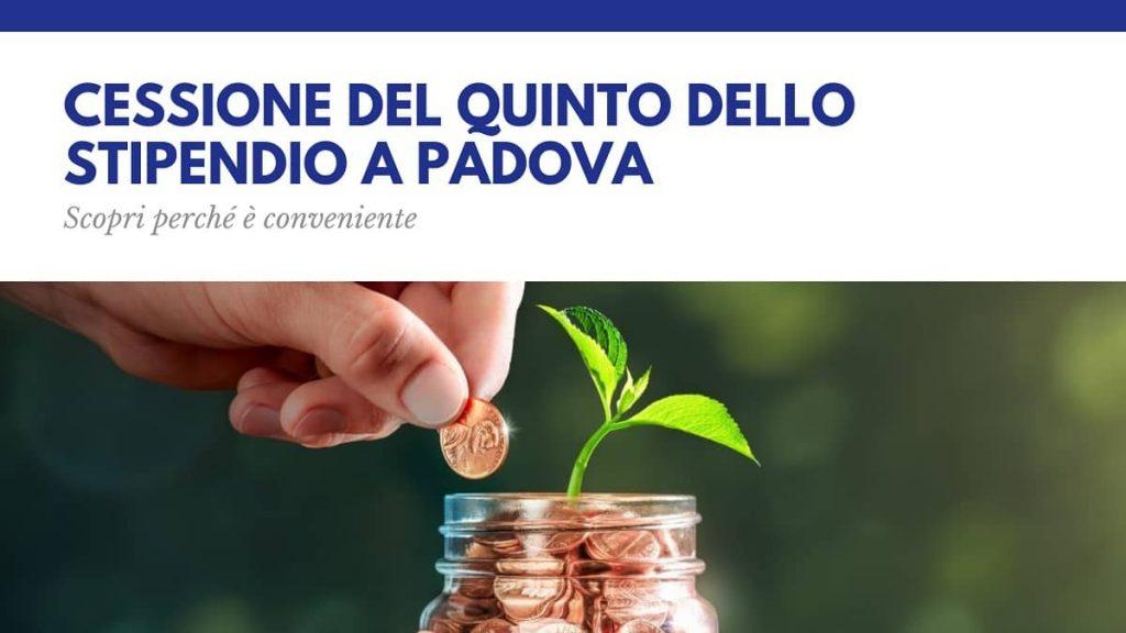Cessione del quinto dello stipendio a Padova