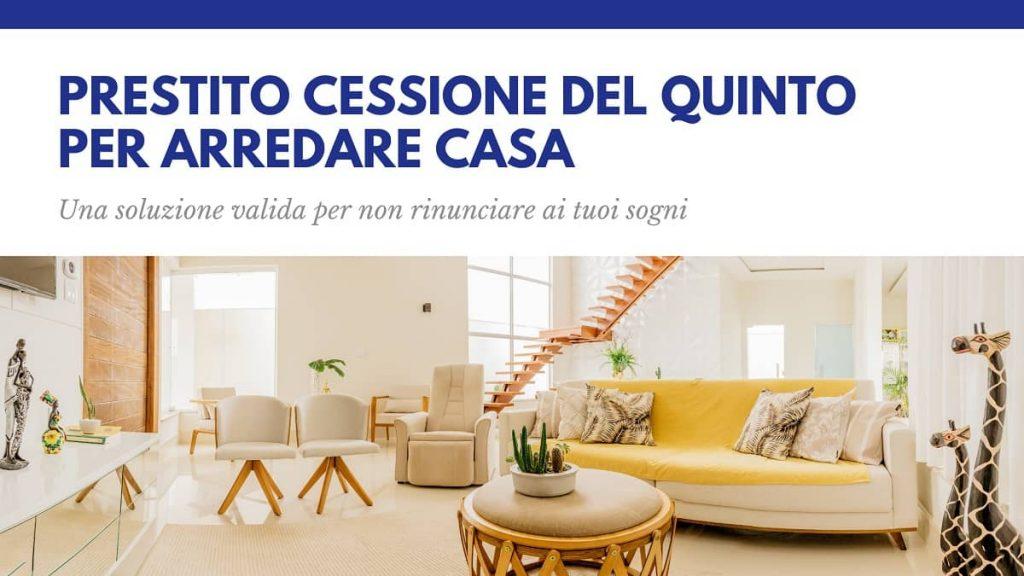 Prestito Cessione del Quinto per arredare casa - Kiron Padova